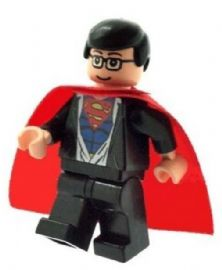 Clark Kent Changing into Superman (Flesh) - Custom Designed Minifigure